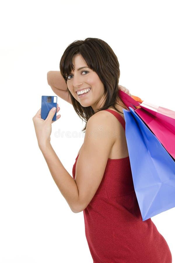Download Einkaufen stockfoto. Bild von beiläufig, verbraucher, träume - 9090940