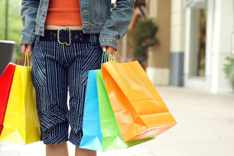 Einkaufen stockbilder