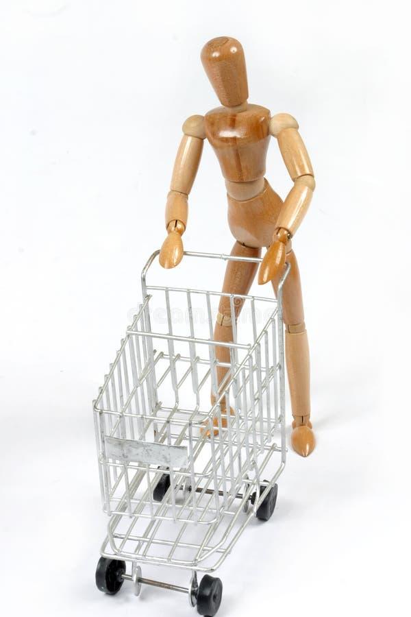 Einkaufen-Baumuster stockfotos