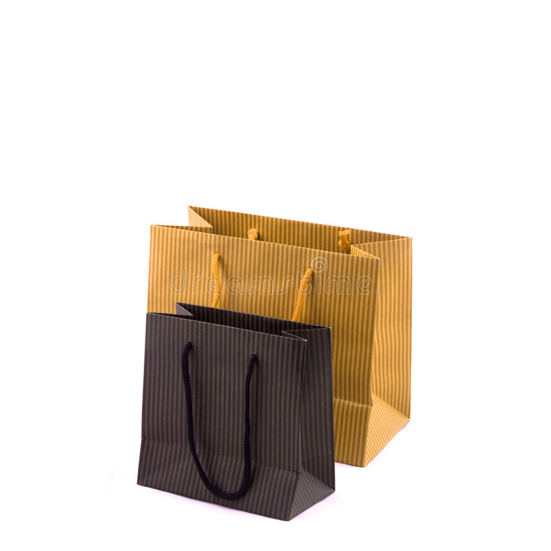 Einkaufen-Beutel lizenzfreies stockbild