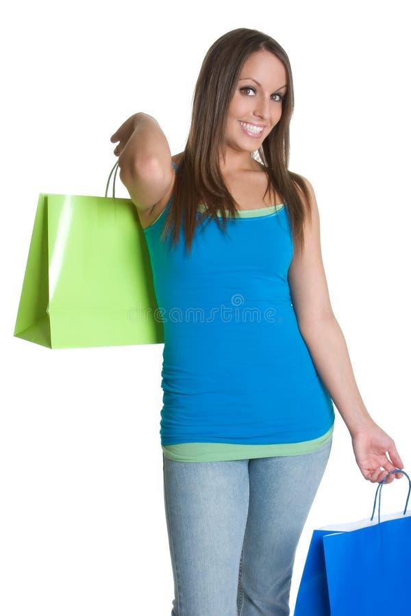 Einkaufen-Mädchen stockfotos