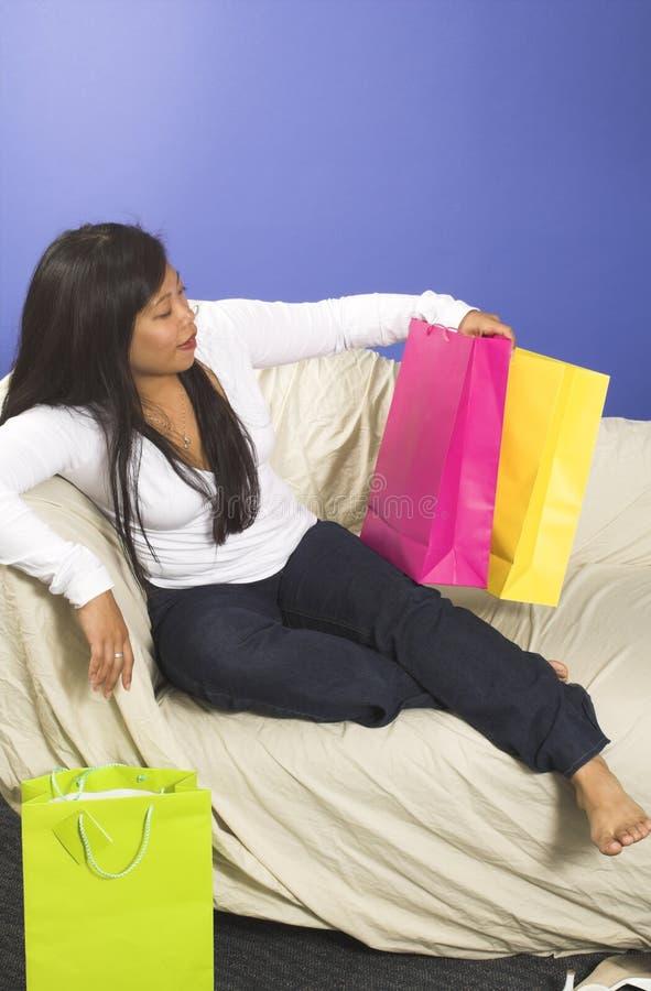 Einkaufenbeutel stockfoto