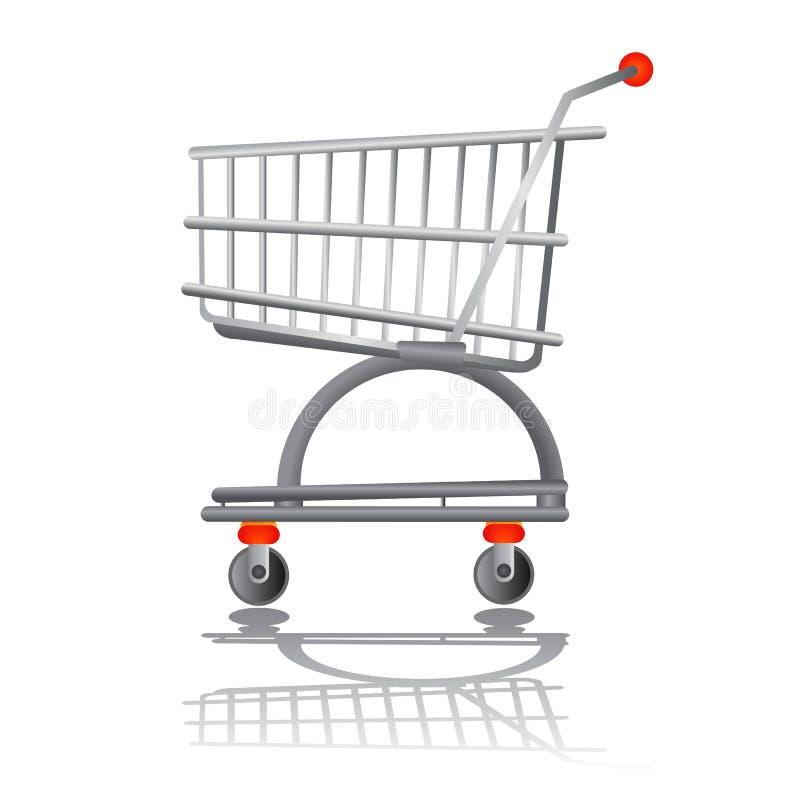 Einkaufendiagrammvektor stock abbildung