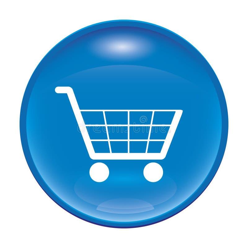 Einkaufenikone vektor abbildung
