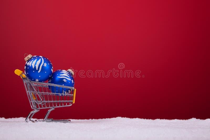 Einkaufenjahreszeit lizenzfreies stockbild