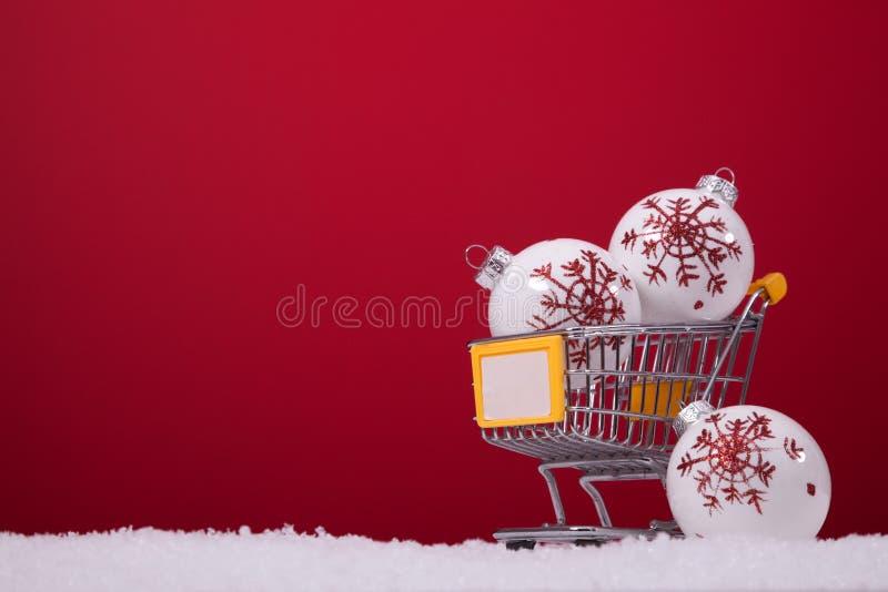 Einkaufenjahreszeit stockbild