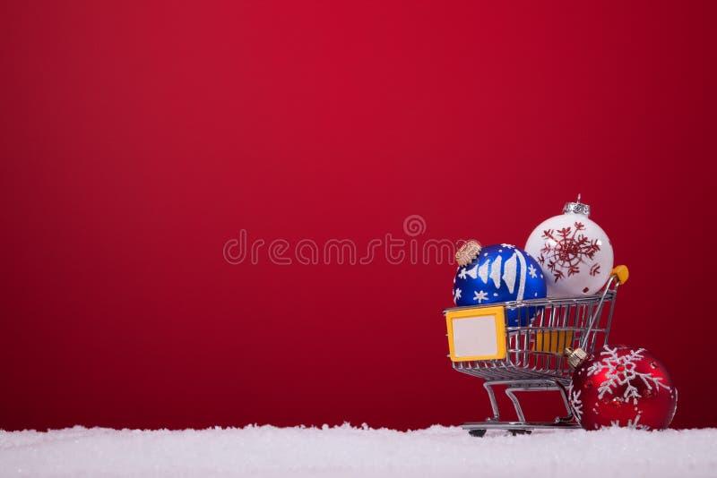 Einkaufenjahreszeit stockfotografie