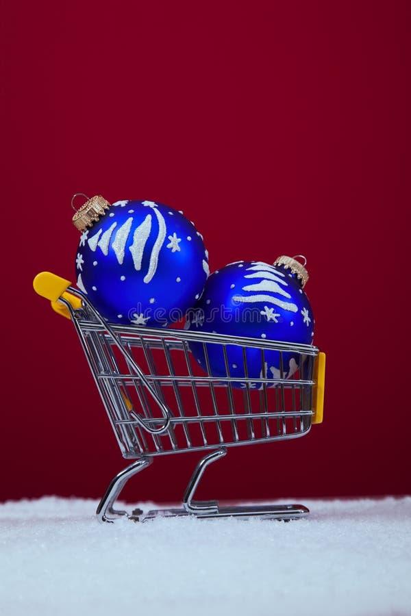 Einkaufsjahreszeit stockfoto