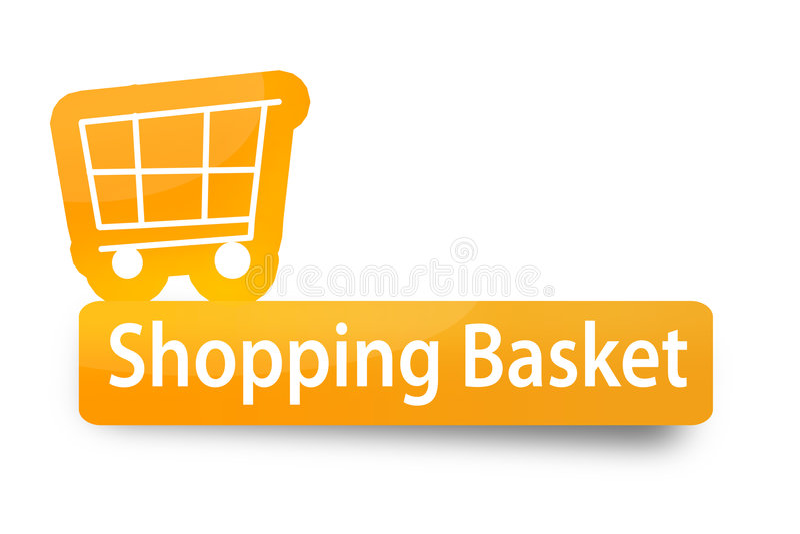 Einkaufskorb stockbilder