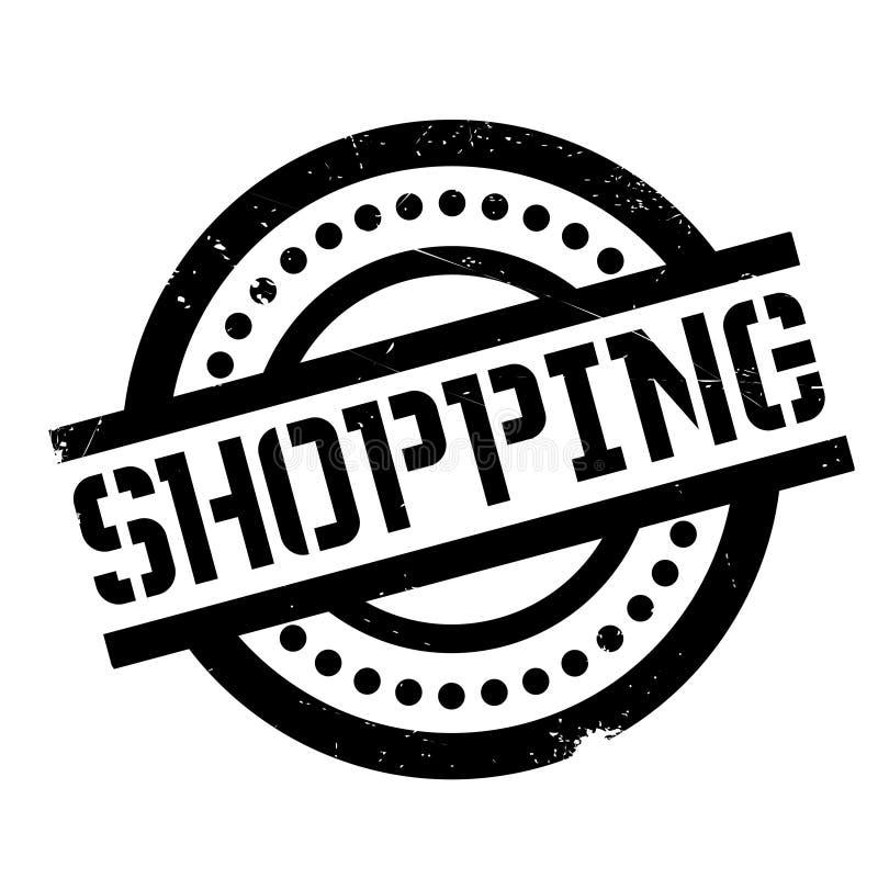 Einkaufsstempel vektor abbildung