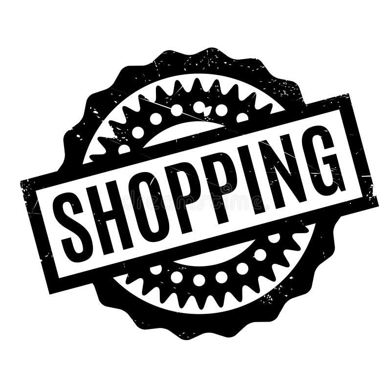 Einkaufsstempel lizenzfreie abbildung