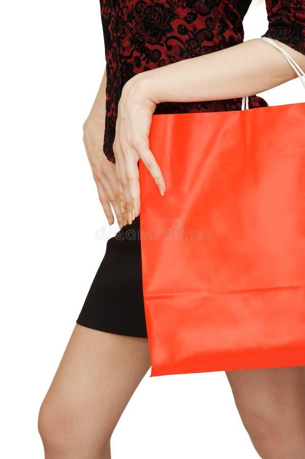 Einkaufstasche lizenzfreie stockfotografie
