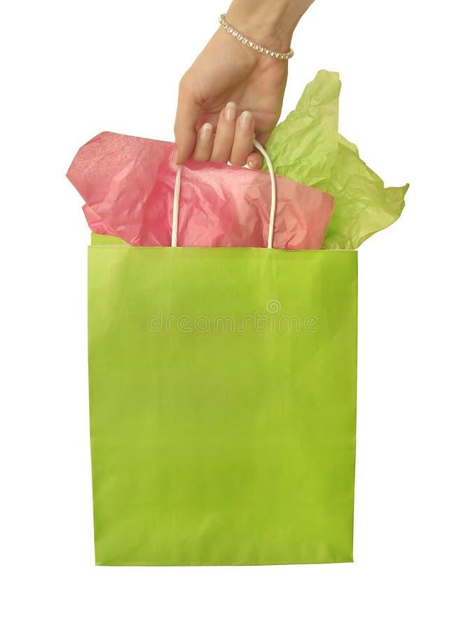 Einkaufstasche stockbild