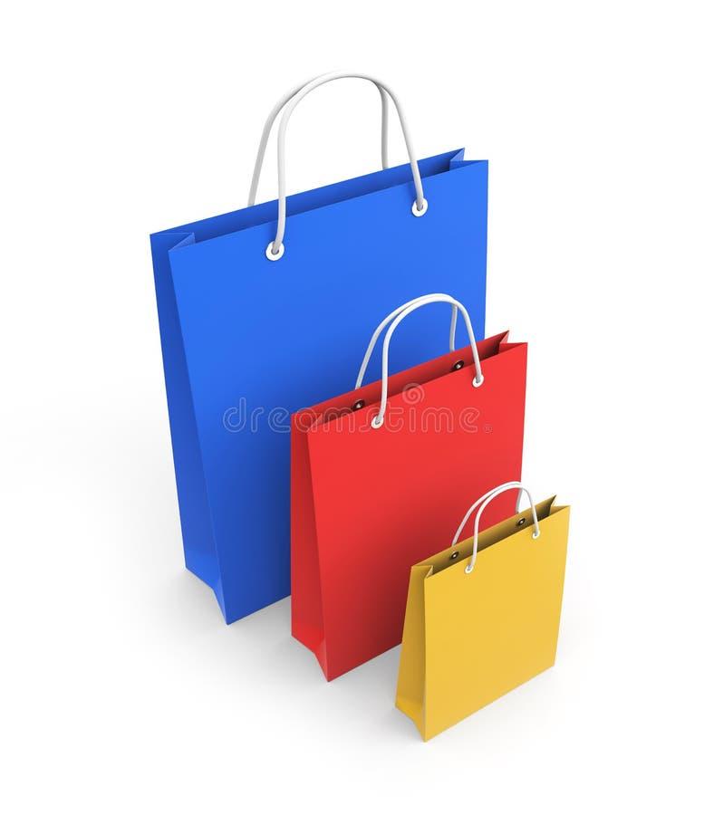 Einkaufstasche vektor abbildung