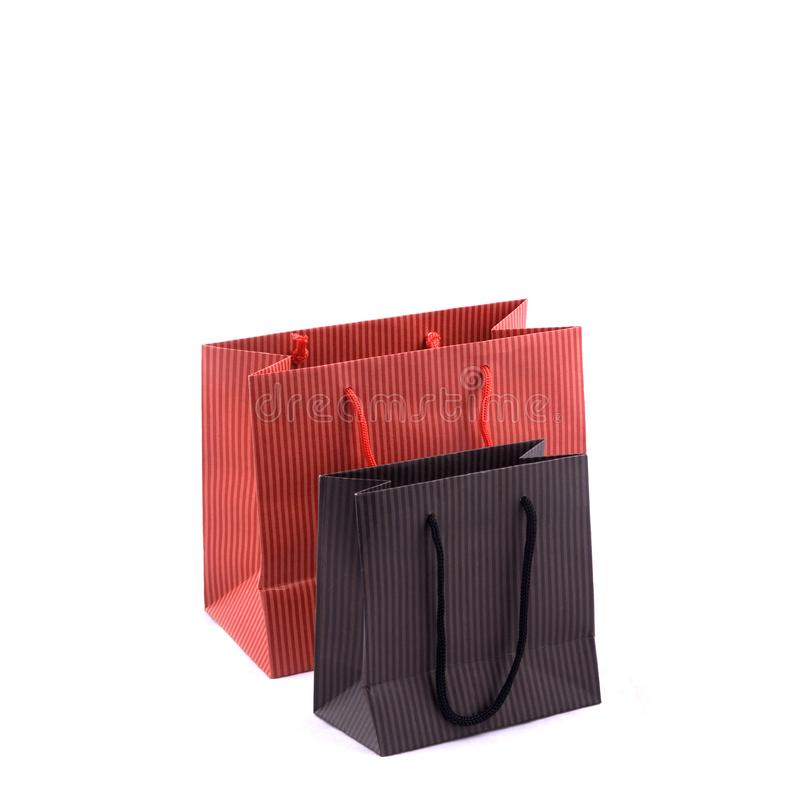 Einkaufstaschen lizenzfreie stockbilder