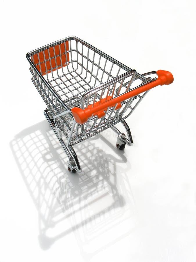 Einkaufswagen 2/3 lizenzfreies stockfoto