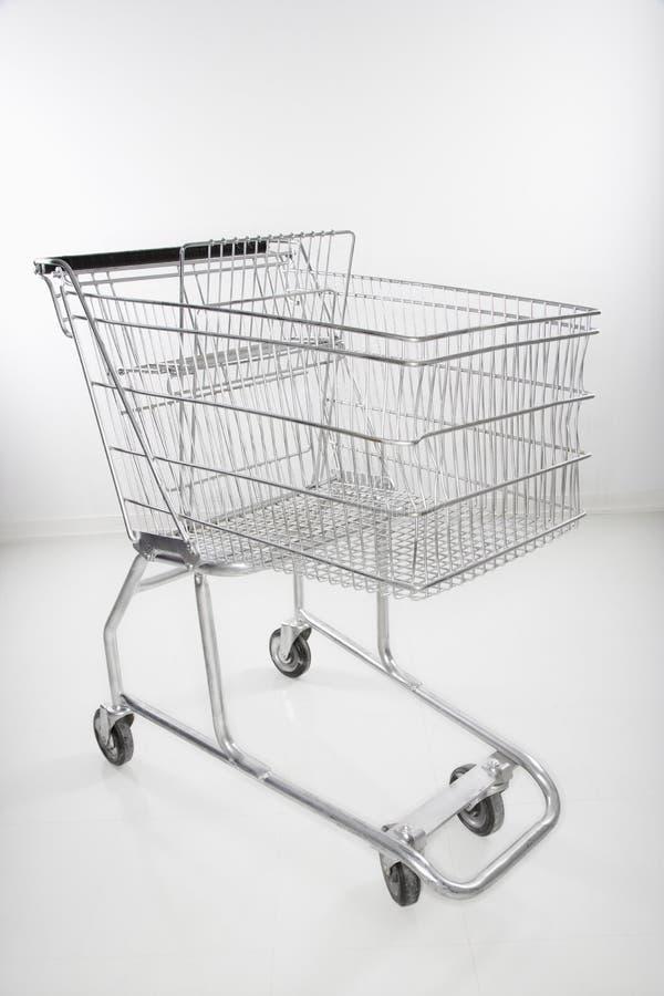 Einkaufswagen. lizenzfreies stockfoto