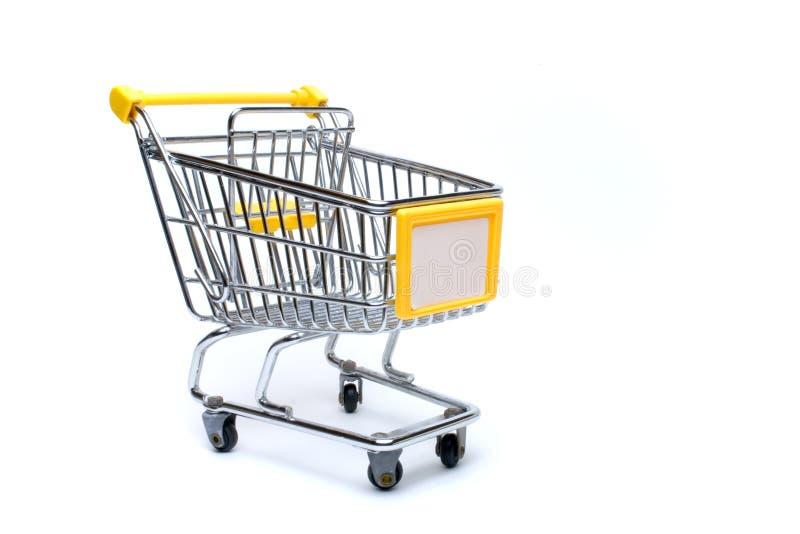 Einkaufswagen stockbilder