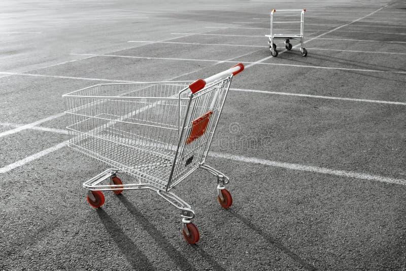 Einkaufswagen lizenzfreie stockfotografie