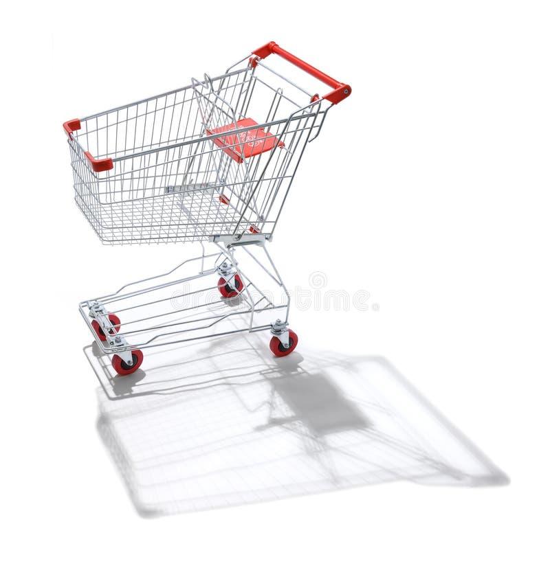 Einkaufswagen-Laufkatze lizenzfreies stockfoto