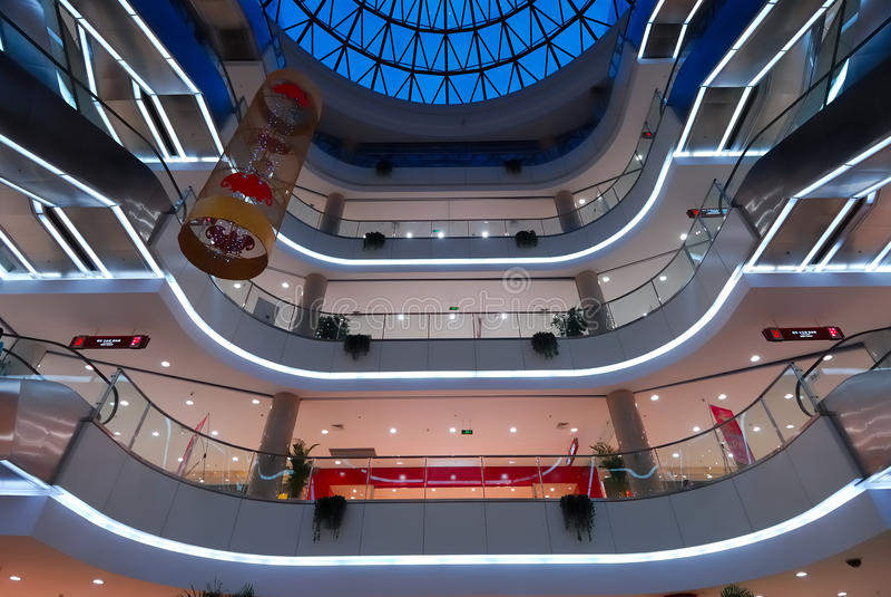 Einkaufszentrum 7 stockfoto