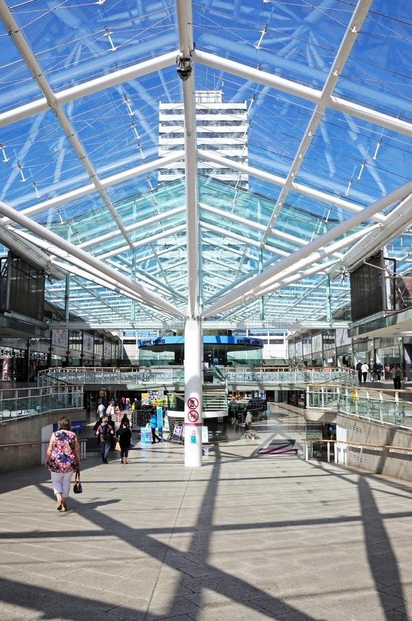 Einkaufszentrum, Coventry lizenzfreie stockfotos