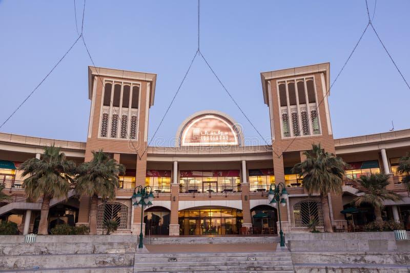 Einkaufszentrum Souq Sharq in Kuwait stockfotos