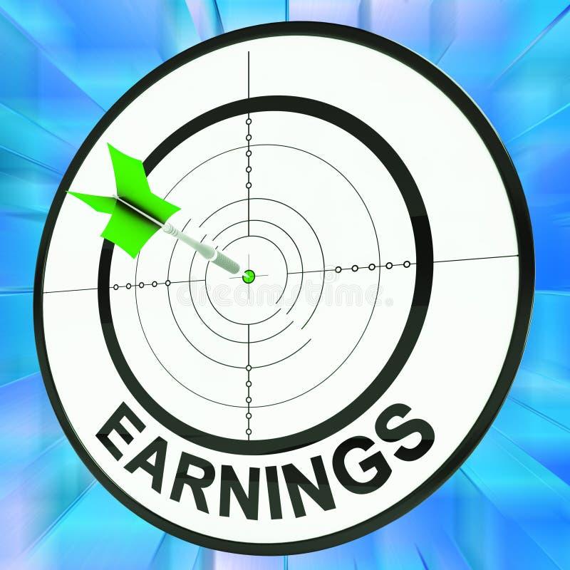Einkommen-Show-Berufung, Besetzung, Beschäftigung und Beruf vektor abbildung
