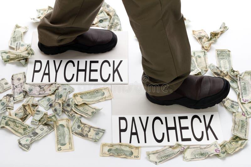 Einkommen und Ausgabe lizenzfreie stockfotos