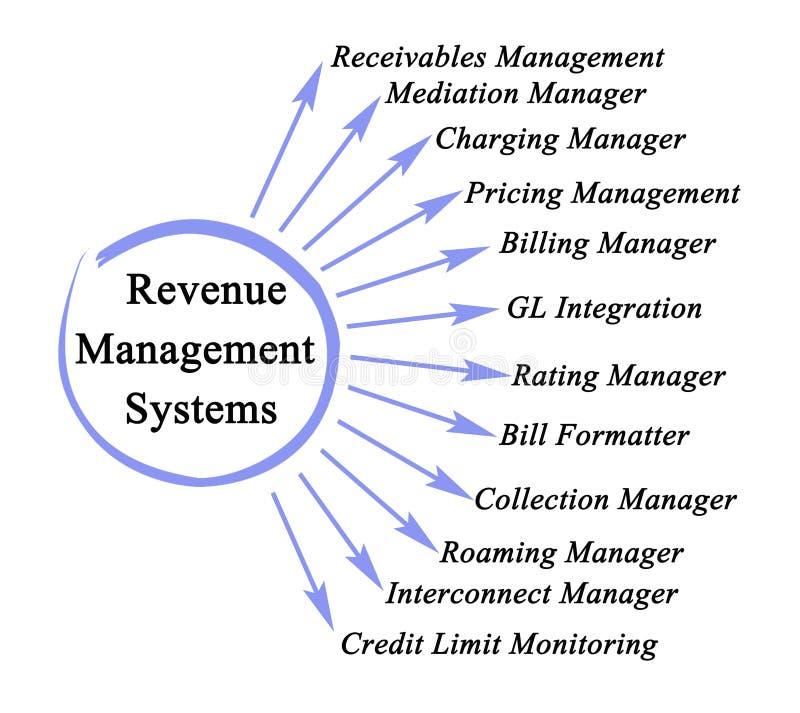 Einkommens-Management-Systeme vektor abbildung