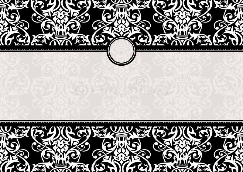 Download Einladungsfeld vektor abbildung. Illustration von dekor - 26350185