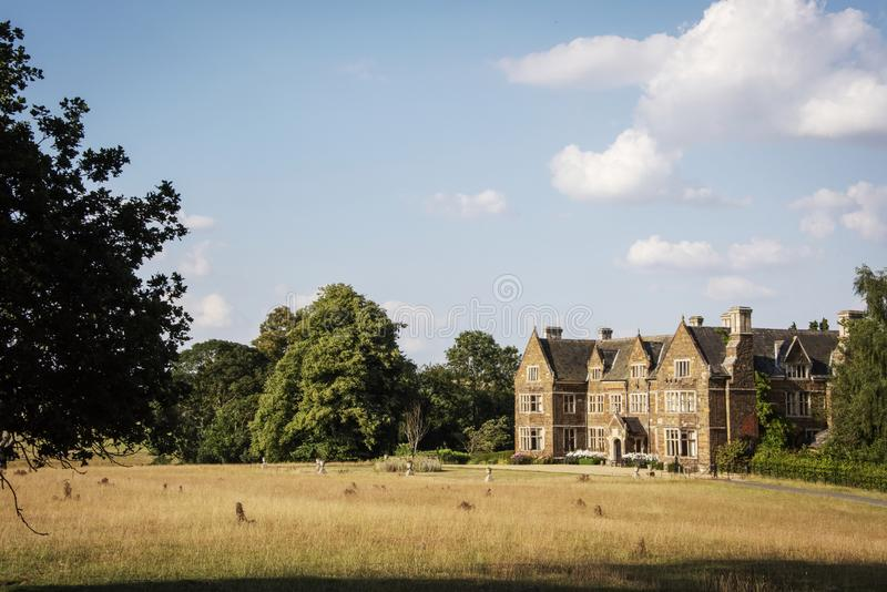 Einmal Haus zur Cromwell-Familie und jetzt zu einem christlichen Rückzug Lau lizenzfreie stockbilder