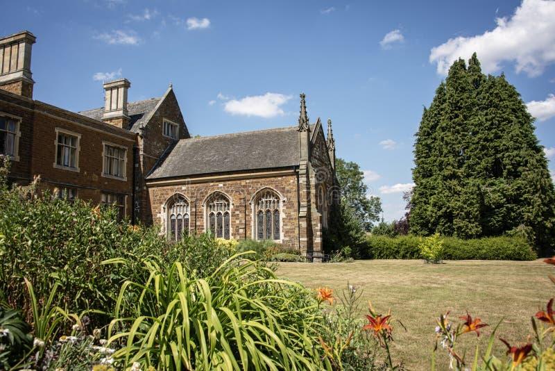 Einmal Haus zur Cromwell-Familie und jetzt zu einem christlichen Rückzug Lau lizenzfreie stockfotos