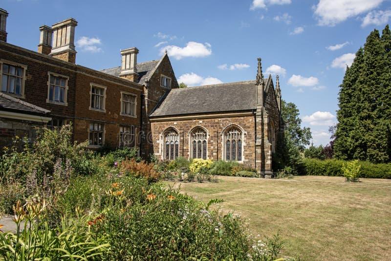 Einmal Haus zur Cromwell-Familie und jetzt zu einem christlichen Rückzug Lau stockbild