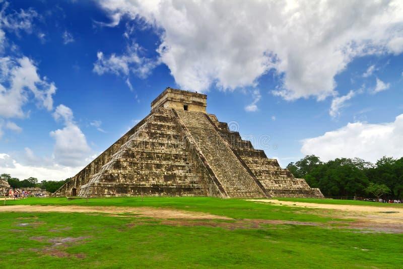 Eins von 7 neuen Wundern in Mexiko lizenzfreie stockfotos