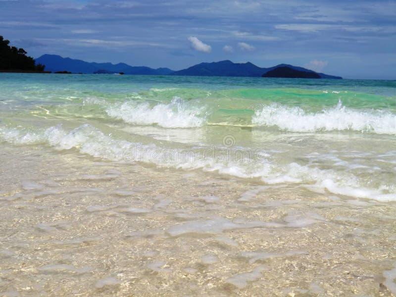 Einsame Insel in Thailand lizenzfreies stockbild