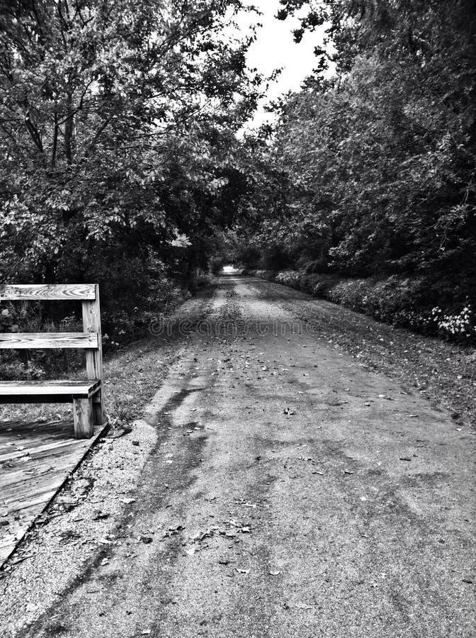 Einsame Straße stockbilder