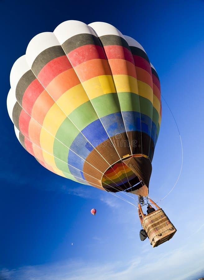 Einsamer Ballon stockfoto