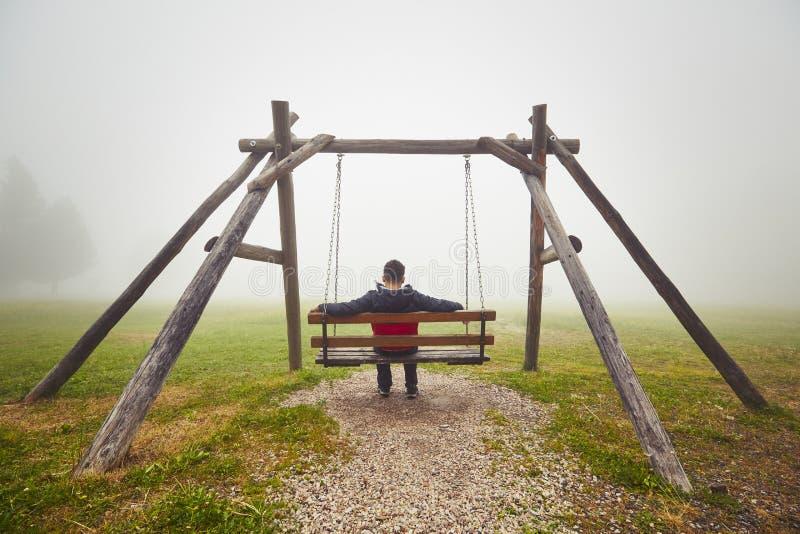 einsamkeit stockfotografie