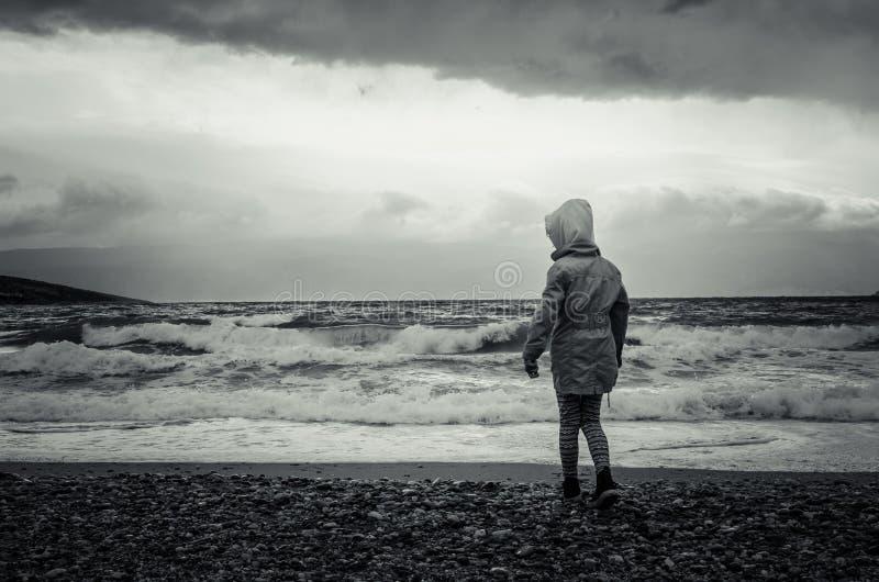 einsamkeit lizenzfreie stockfotografie