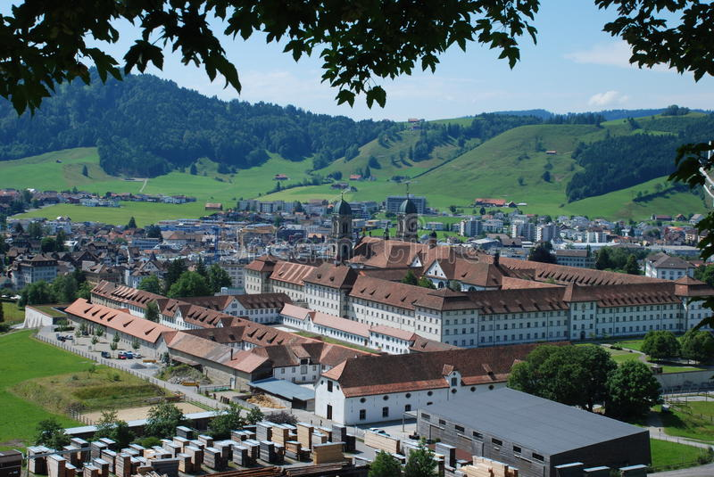 Einsiedeln Switzerland stock photo Image of schwyz 42604284