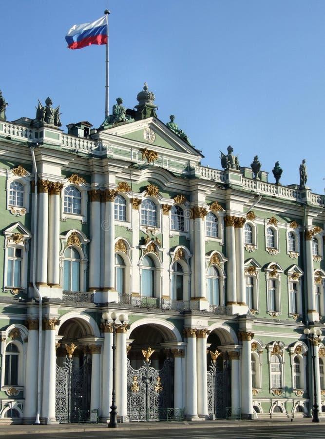 Einsiedlerei - berühmter russischer Grenzstein lizenzfreies stockfoto