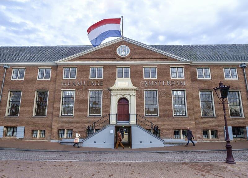 Einsiedlerei-Museum Amsterdam stockfotos