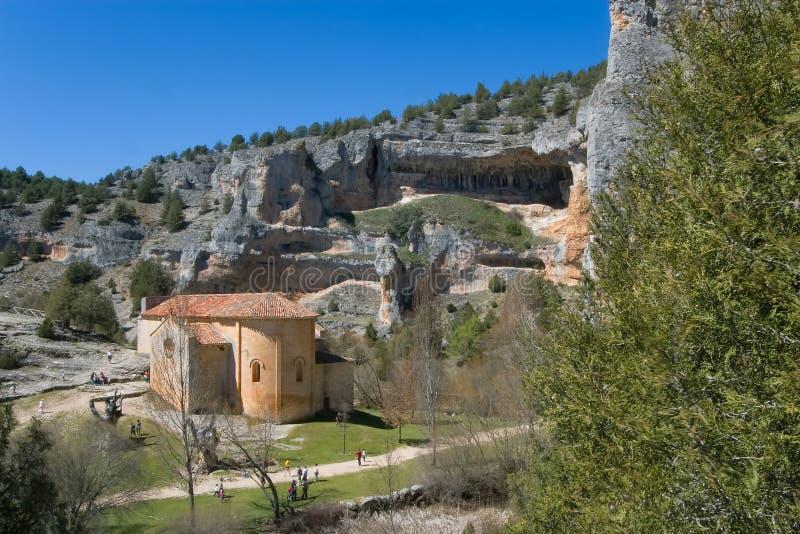 Einsiedlerei von San Bartolome, Soria lizenzfreie stockfotos