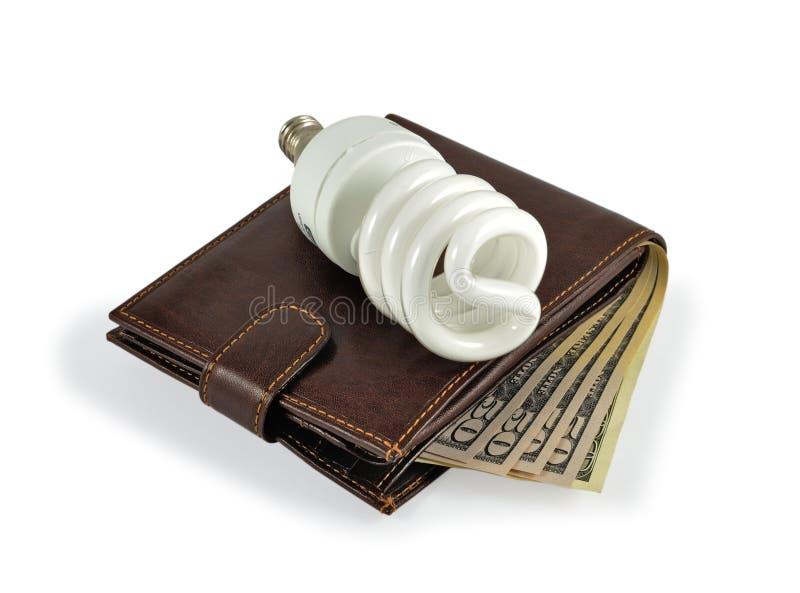 Einsparung-Energie und Geld stockfotos