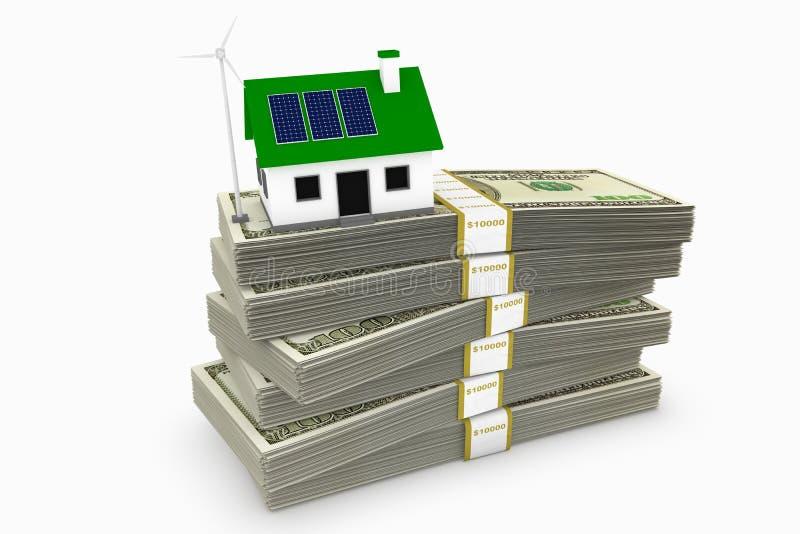 Einsparung-Geld lizenzfreie abbildung