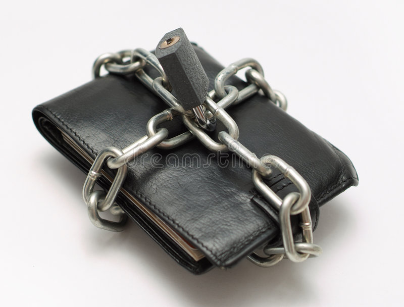Einsparungbargeldgeld lizenzfreies stockbild