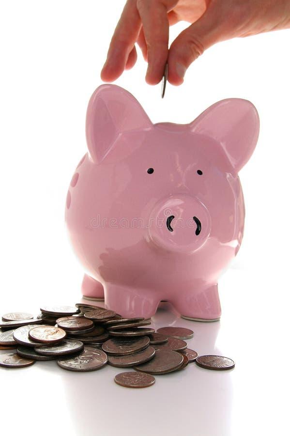 Einsparunggeld stockfotos