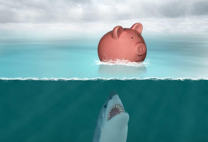 Einsparungs-Geld, Einsparungen, Ruhestand, Finanzen stockfoto