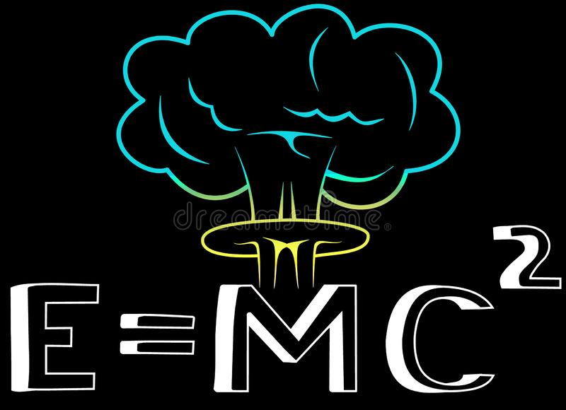 Einstein Ecuation of the Energy vector illustration
